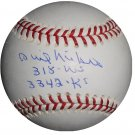 Phil Niekro Signed Official Major League Baseball (Tristar)
