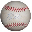 Troy Tulowitzki Signed Game Used OMLB Baseball (Steiner)