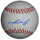 Mike Napoli Red Sox Signed Official Major League Baseball
