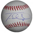 Travis d'Arnaud Signed Official Major League Baseball (MLB HOLO)