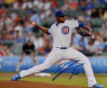 Edwin Jackson Cubs Signed 8x10 Photo