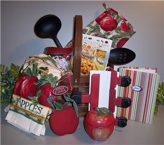 Apple Kitchen Gift Basket