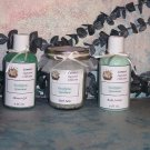 Shower Gel, Silky Body Lotion and Bath Salts Gift Set