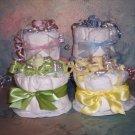 Mini Diaper Cake  Cupcake  Baby Shower Gift