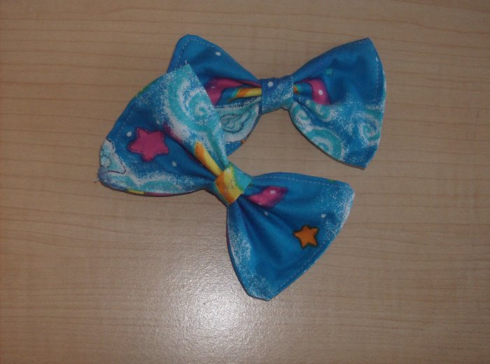 Rainbow Bows (PAIR)