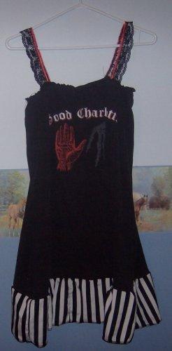 XL Good Charlotte Mini-Dress (OOAK)