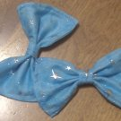 Metallic Stars Bows (PAIR)