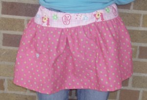 Cutie Fawn Skirt (X-SMALL) OOAK