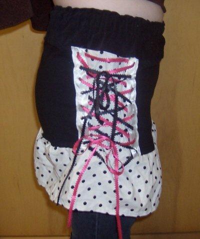Corset Skirt (SMALL) OOAK