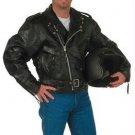 2XL LEATHER MOTORCYCLE JACKET