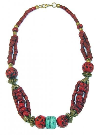 Tibetan Sunrise Necklace - India