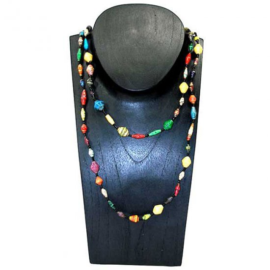 Recycled Paper Necklace - Uganda