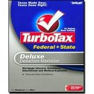 2006 TurboTax Federal + State Deluxe Deduction Maximizer 2006 Win/Mac Turbo Tax