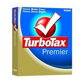 TurboTax Premier 2004 Federal Returns Home & Business Win/Mac Turbo Tax