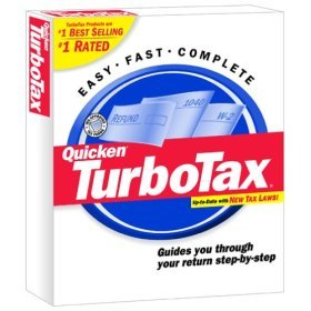 TurboTax 2001 Federal for Windows Turbo Tax