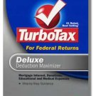 2007 TurboTax Federal Deluxe Deduction Maximizer 2007 Win/Mac Turbo Tax