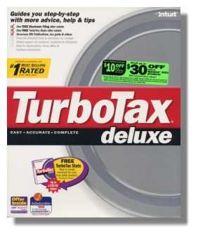 TurboTax Deluxe 1998 Federal Turbo Tax