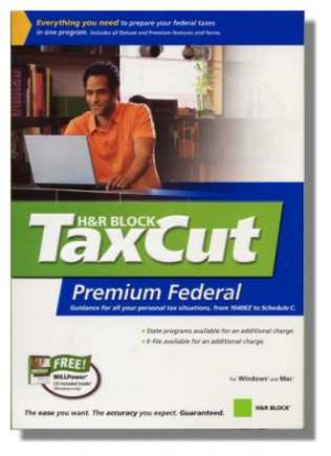 2006 Taxcut Premium Federal Home Schedule C imports Turbotax