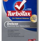 2008 TurboTax Federal Deluxe EFILE NEW NIB Deduction Maximizer 2008 Win/Mac Turbo Tax