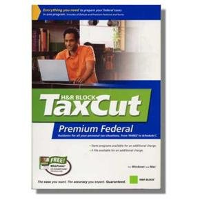 2008 Taxcut Federal + State Deluxe  2008 Win/Mac Tax Cut