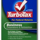 TurboTax Business 2004 Federal Return Corporations and Partnerships Turbo Tax NEW NIB
