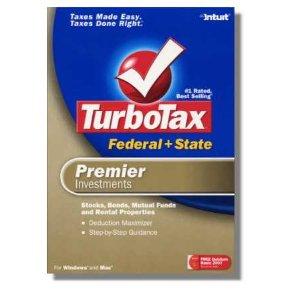 2006 TurboTax Federal Premier Investments 2006 Win/Mac Turbo Tax NEW