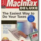 1996 TurboTax Mac Deluxe Federal Intuit MacInTax Turbo Tax