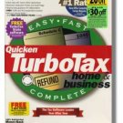 TurboTax Premier 1999 Federal Returns Home & Business Turbo Tax