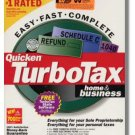 TurboTax Premier 2001 Federal Returns Home & Business Turbo Tax