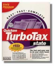 2001 TurboTax State 2001 Windows Turbo Tax