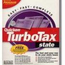 2003 TurboTax State 2003 Windows Turbo Tax