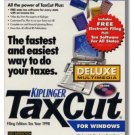1999 TaxCut Standard Federal H&R Block Tax Cut