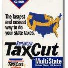1999 TaxCut Standard state H&R Block Tax Cut