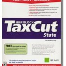2007 TaxCut Standard state H&R Block Tax Cut