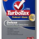 2009 TurboTax Federal Deluxe EFILE NEW NIB Deduction Maximizer 2009 Win/Mac Turbo Tax