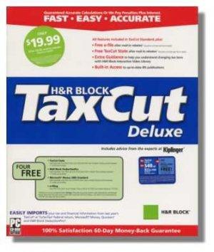 2004 Taxcut Deluxe Federal Tax Cut Return Imports Turbotax