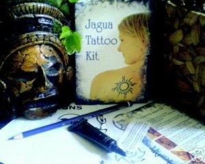 JAGUA black temporary tattoo kit, PPD / Henna free