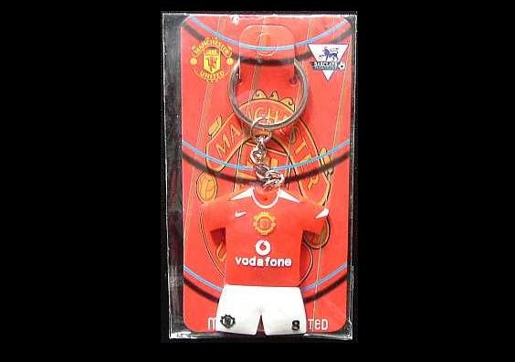 WAYNE ROONEY MANCHESTER UNITED VODAFONE FOOTBALL SHIRT KEY RING