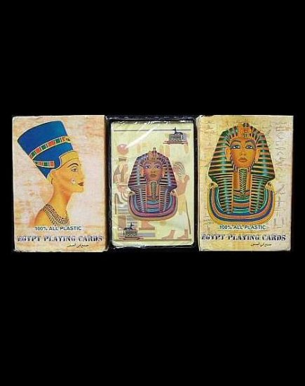 ANCIENT EGYPT EGYPTIAN PLAYING CARDS