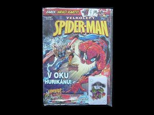 SLOVAKIA SLOVAKIAN LANGUAGE SPIDERMAN COMIC AND PLAYING CARDS