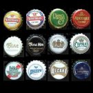 COLLECTION OF TWELVE RUSSIAN UKRAINIAN BEER CROWN BOTTLE TOPS