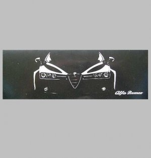 ALFA ROMEO RUSSIAN LANGUAGE SALES PRICE BROCHURE