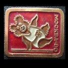 OLYMPICS MOSCOW 1980 MISHA MASCOT GYMNASTICS SPORT PIN BADGE