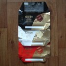 ROSHEN CLASSIC SET OF THREE RUSSIAN AEREATED CHOCOATE WRAPPERS