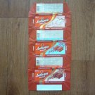 RAINFORD LUBUMOV LOVE SET OF THREE RUSSIAN AEREATED CHOCOATE WRAPPERS