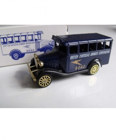 CORGI BOAC BEDFORD DECK BUS FROM READERS DIGEST PUBLICATION BOXED NEW AND PERFECT
