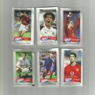 FOOTBALL STARS IONIA 5gr SUGAR PACKETS NEW AND PERFECT