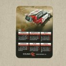 LADA KALINA LADA RACING RUSSIAN LANGUAGE CREDIT CARD SIZE CALENDAR CARD 2013