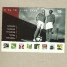 WOMENS EUROPEAN FOOTBALL CHAMPIONSHIP 2005 ADVERTISING POSTCARD