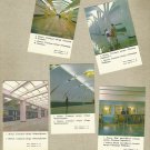 MINSK BELARUS METRO SUBWAY UNDERGROUND RAILWAY CALENDAR CARDS 1986